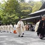 「奉幣の儀」で即位の礼と大嘗祭の期日を報告