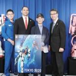 宇宙からガンダムが応援、東京五輪中衛星に搭載