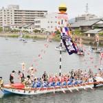 日本三大船神事の「ホーランエンヤ」が開催