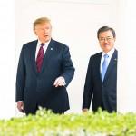 トランプ米大統領と文在寅韓国大統領