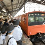 市民の足、大阪環状線「201系」がラストラン