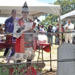 米本土初の「若松コロニー」跡地で記念式典