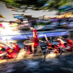 伝統のボートレース、著名な詩人の屈原をしのぶ