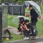 「沖縄慰霊の日」迎え、平和への誓いを新たに
