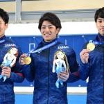 金でも満足せず、世界選手権を見据える3人