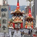 祇園祭前祭、23基の山鉾が都大路を華麗に彩る