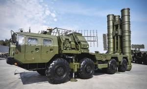 ロシアの対空ミサイルシステムS400
