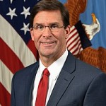 Dr. Mark Esper, Acting Secretary of Defense, poses for his official portrait in the Army portrait studio at the Pentagon in Arlington, Va., June 20, 2019.  (U.S. Army photo by Monica King)