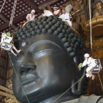 奈良の大仏様、すっきりしてお盆を迎えられる?