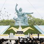 地道に「平和の文化」を、長崎原爆の日で式典