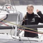 トゥーンベリさん、ヨットで英プリマスを出航