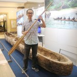 黒潮越えた丸木舟「スギメ」など、公開始まる