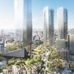 高さは330m、森ビルが日本一のビルを建設