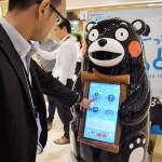 「くまモン」型ロボット、大型商業施設に登場