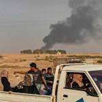 トルコ越境攻撃20191017(AFP時事)