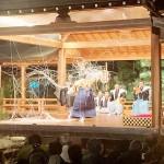 大山阿夫利神社で「大山火祭薪能」を開催