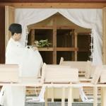 大嘗祭に使う栃木と京都の新穀を大嘗宮に納める
