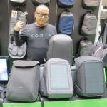 イルプリモ社の盗難防止機能付きバッグが人気