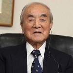 中曽根康弘元首相2