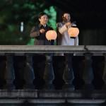 皇居前広場で国民の前にお出ましになった天皇陛下(20191109)
