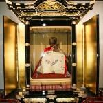 真言宗で修業を積んだ高僧の即身仏