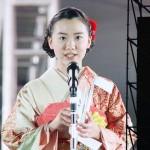 国民祭典で女優 芦田愛菜さんの祝辞(20191109)