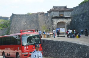 オールジャパンで焼失した首里城の再建を
