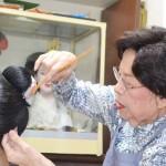 唯一の島原太夫結髪師、京都の山中惠美子さん