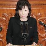 自民党の故宮川典子氏、女性候補推進法に尽力