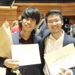 ピアノで三浦謙司さん優勝、務川慧悟さん2位