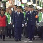 三浦正充警視総監が新宿区の歌舞伎町を巡視