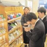台湾でのリンゴ加工品で流通を学ぶ海外研修