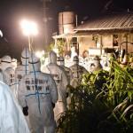 豚コレラ感染、防疫作業で自衛隊の献身的な活躍