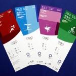 期待彩る4色、観戦チケットのデザイン発表