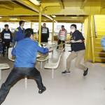 五輪を控え、旅客船を使いテロ想定訓練を実施