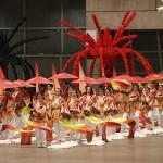 東京五輪・聖火引き継ぎ式のリハーサルを公開