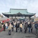 覚王山日泰寺で毎月21日に縁日が開かれる