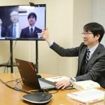 「ウェブ会議」、大阪など3地裁で初めて実施