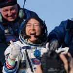 宇宙飛行士クリスティーナ・コークさんが帰還