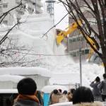 新型肺炎で「さっぽろ雪まつり」の来場者26%減