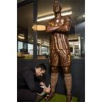 重さは120キロ、チョコ製ロナルド選手が登場