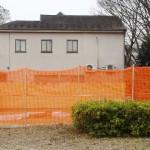 世田谷一家殺害の現場住宅で防護ネットを撤去