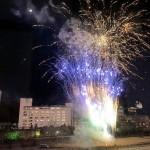 夜空を彩る「冬の下呂温泉花火物語」を開催