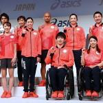 オリパラ日本選手団の公式スポーツウエアを発表