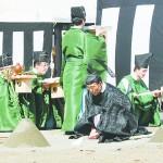 皇居・東御苑で大嘗宮撤去後の地鎮祭を行う