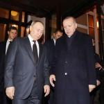 プーチン大統領(左)とエルドアン大統領