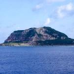 硫黄島摺鉢山