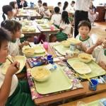 福島3市町村と市川市が学校給食で食文化交流