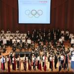 東京五輪に向け、20ヵ国以上の国旗・国歌を紹介