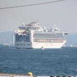 クルーズ船が横浜港を離岸、5月16日に運航再開